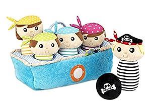 itsImagical - Bowling piratas, bolos de tela (Imaginarium 66336) de Imaginarium