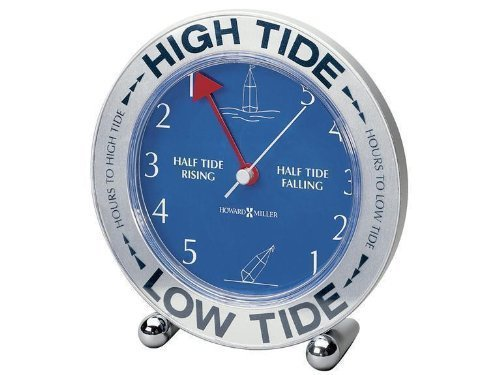 "HOWARD MILLER TIDE MATE III TIDE CLOCK ATLANTIC OCEAN ONLY ""Prod. Type: Home/Office"" by O.E.M."