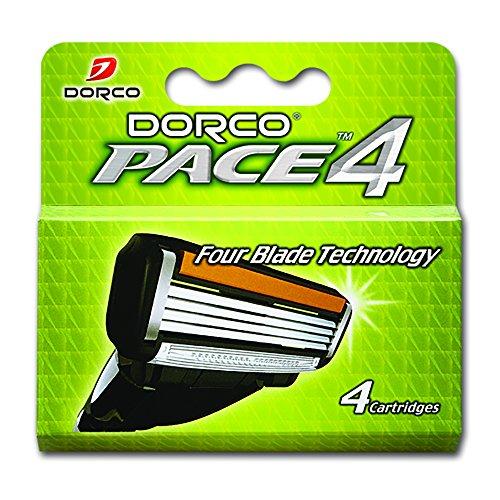 dorco-pace-4-razor-manual-blades-for-men-safe-sensitive-shaving-system-4-blades