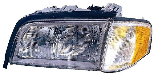 Depo 340-1101L-ASC Mercedes-Benz C-Class Driver Side Replacement Headlight Assembly with Corner Light (1999 Mercedes Benz C230 Radiator compare prices)