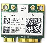 HP 633817-001 Intel Centrino Wireless-N + WiMAX 6150 612BNXHMW 802.11b/g/n 300Mbps