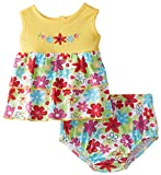 Vitamins Baby Baby-Girls Newborn Bright Floral Diaper Set