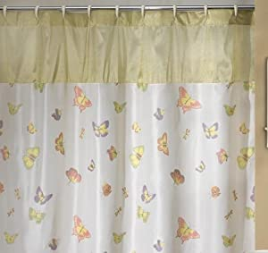 madame butterfly shower curtain bath rugs