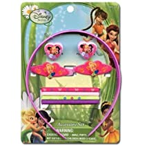 Fairies Disney 9 Pc Hair Accessory Set- 913414