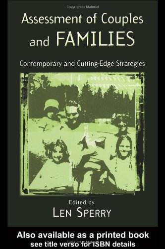 Assessment of Couples and Families: Contemporary and...