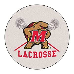 FANMATS NCAA University of Maryland Terrapins Nylon Face Round Rug by Fanmats