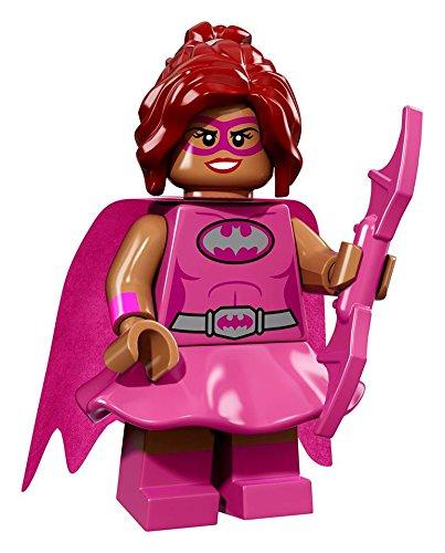 ザ・レゴ バットマン ムービー ミニフィギュア シリーズ Pink Power Batgirl (ピンクパワー・バットガール)【71017-5】