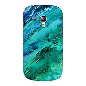 Cute Texture Paint Back Case Cover for Galaxy S3 Mini