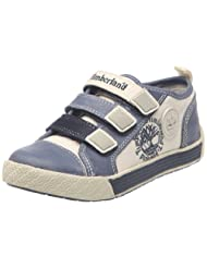 Timberland Kids Earthkeepers Metro Network Hook & Loop Oxford Blue Smooth With Off White