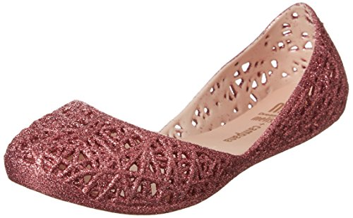 MINI MELISSA -Ballerina fucsia in plastica MELFLEX, gomma profumata,elegante scarpa bordeaux Bambina, Donna-33