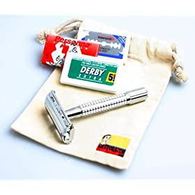 Weishi Double Edge Safety Razor Starter Kit