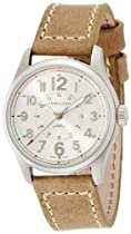Hamilton Khaki Officer Silver Dial Automatic Mens Watch H70365983