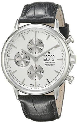 Edox Les Bémonts montre homme chronographe automatique 01120 3 AIN