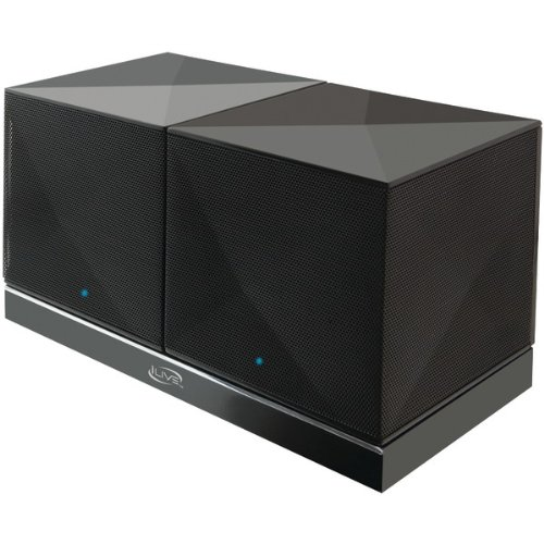 Ilive Blue Isb614B Dual Portable Bluetooth(R) Speakers