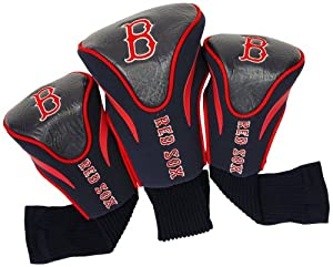 MLB Boston Red Sox Contour Head Cover (Pack of 3), Navy by Team Golf