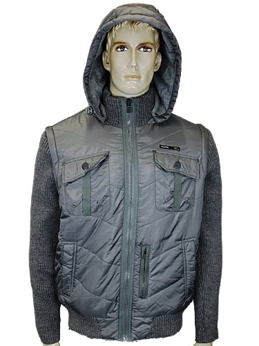 Mens Grey Jack Jones Float Designer Jacket Size S