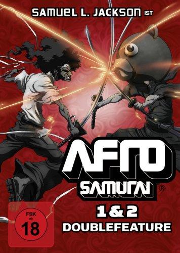 Afro Samurai 1 & 2 - Doublefeature [2 DVDs]