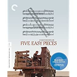Five Easy Pieces [Blu-ray]