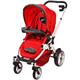 Mia Moda Atmosferra Stroller, Rosso