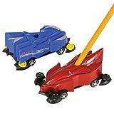 "Dozen Assorted Color Race Car Design Pencil Sharpeners - 4"""