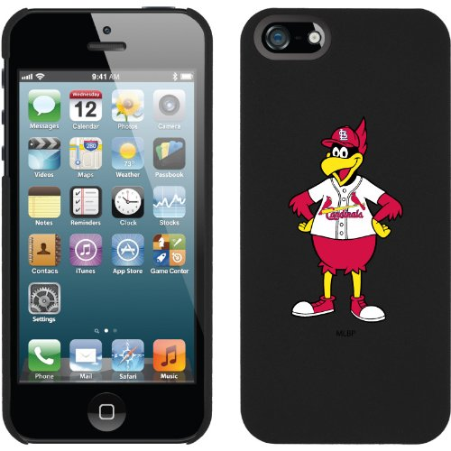 Great Price St. Louis Cardinals - Mascot design on a Black iPhone 5 Thinshield Snap-On Case by Coveroo