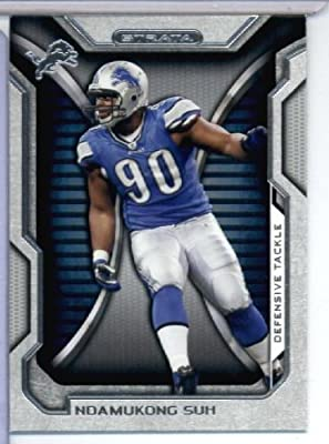 2012 Topps Strata Hobby Football Card #141 Ndamukong Suh - Detroit Lions - NFL Trading Cards