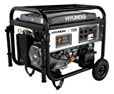 Hyundai HHD7250 7250-Watt 4-Stroke Portable Heavy Duty Generator With Elect ....