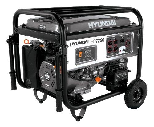 Hyundai HHD7250 7250-Watt 4-Stroke Portable Heavy