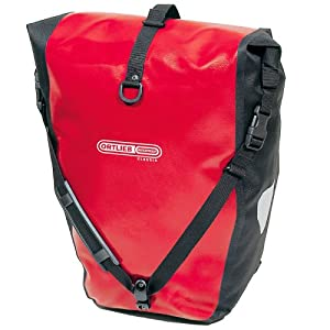 Ortlieb Waterproof Back-Roller Classic - QL1 Cycle Panniers Pair - Red