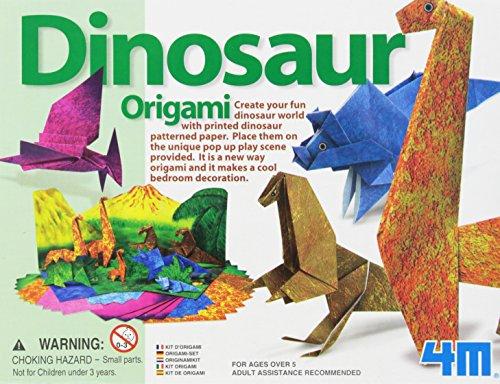 Origamidinosaurierweltsatz- Schöpferischer Handwerksatz