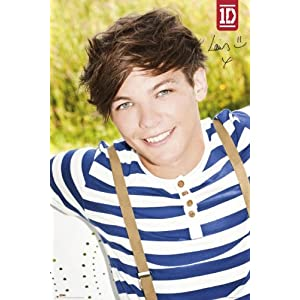 Music - Pop Posters: One Direction - Louis - 35.7x23.8 inches