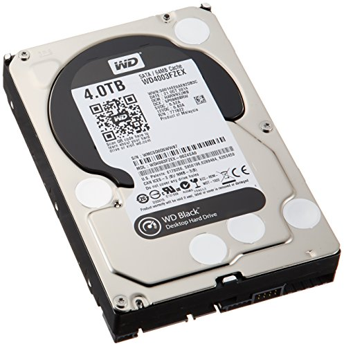 WD Desktop WD4003FZEX Black 4TB 3,5″ HDD 7200rpm 6Gb/s serial ATA
