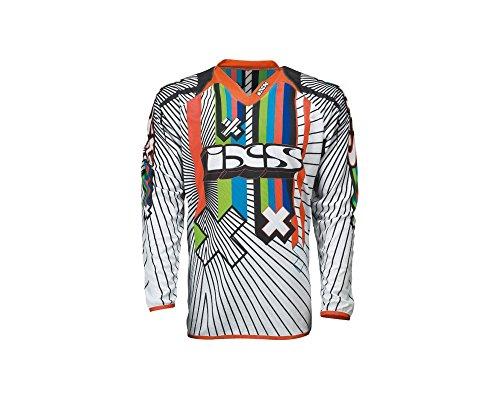 Maglietta Ixs Smash Bianco/Nero