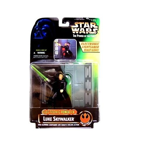 Star Wars: Power of the Force Electronic Power F/X Luke Skywalker Action Figure