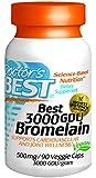 Doctor's Best 3000 Gdu Bromelain, 90-Count