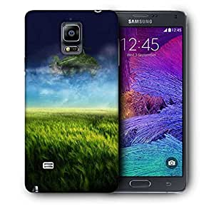 Snoogg Nautre Of Grass Printed Protective Phone Back Case Cover For Samsung Galaxy NOTE 4 / NOTE IIII