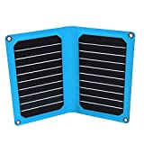 PowerGreen-14W-Solar-Panel-Charger-with-USB-Port-for-iPhone-66-Plus-iPad-Air-2mini-3-Galaxy-S6S6-Edge-and-More-Blue