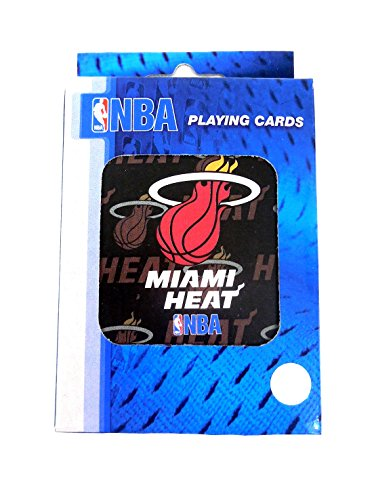 NBA Basketball Miami Heat Playing Cards - 1