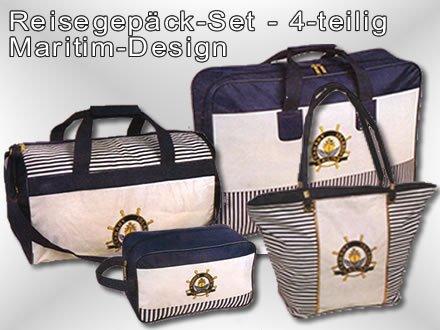 Koffer Taschen Set 4 teilig Koffer Reisekoffer