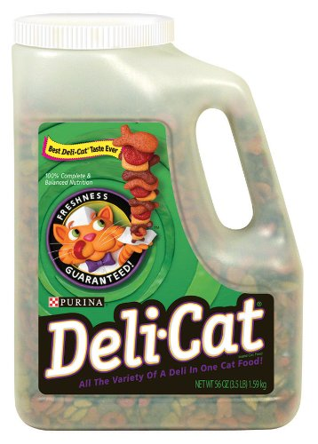 Detail image Purina Pet Care Deli Cat, 56-Ounce Containers (Pack of 4)