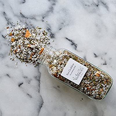 Sea Goddess Organic Herbal Bath Salts - Organic Aromatherapy Bath Tea with Essential Oils and Seaweed