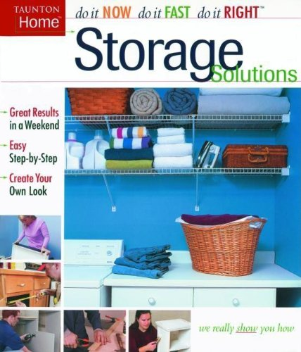 Storage Solutions (Do It Yourself)