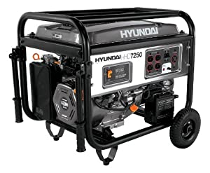 Hyundai HHD7250 7250-Watt 4-Stroke Portable Heavy Duty Generator With Electric Start at Sears.com
