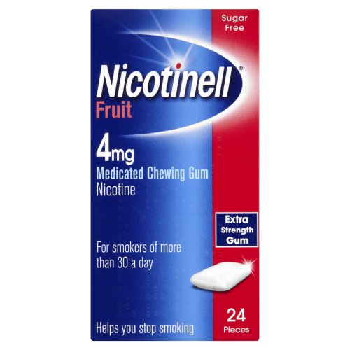 Nicotinell Chewing Gum 4mg Fruit - 24 Pieces