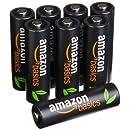 AmazonBasics - Pile ricaricabili AA ad alta capacità...