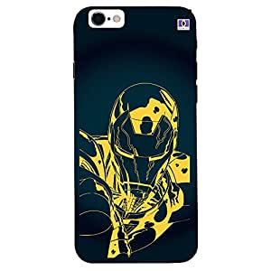 Black & Yellow Man Design - Mobile Back Case Cover For Apple Iphone 7 Plus