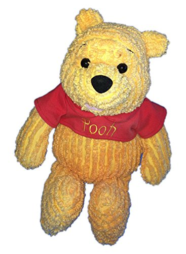"Winnie the Pooh Plush Corduary Chenille Pooh 17"" Long - 1"