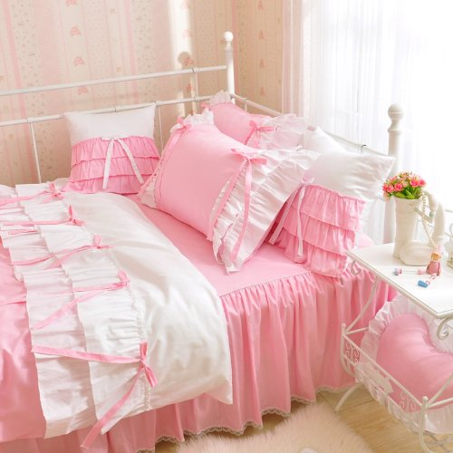 Queen Size Princess Bedding 175330 back