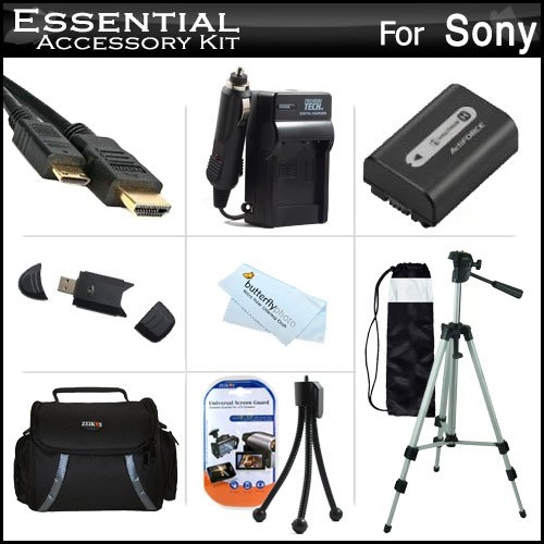 Discover Bargain Essential Accessories Kit For Sony Cyber-shot DSC-HX200V Digital Camera Includes Ex...