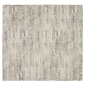 Tadpoles Ash Wood 9 Piece Playmat Set, Grey